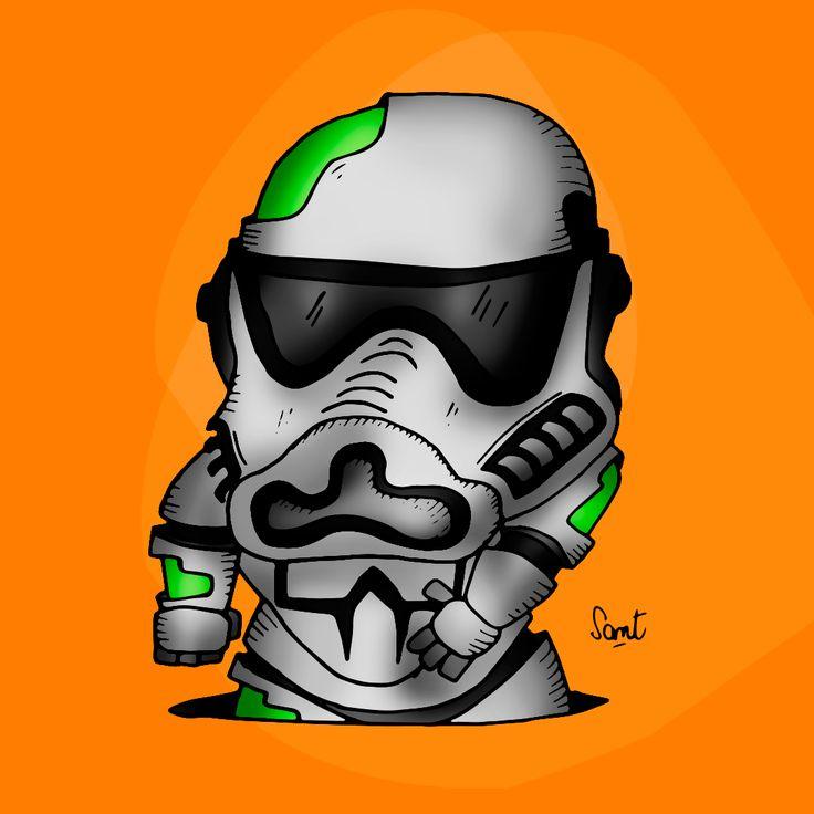 #StarWars #Stormtroopers #SantiagoCompte