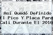 http://tecnoautos.com/wp-content/uploads/imagenes/tendencias/thumbs/asi-quedo-definido-el-pico-y-placa-para-cali-durante-el-2016.jpg 2016. Así quedó definido el pico y placa para Cali durante el 2016, Enlaces, Imágenes, Videos y Tweets - http://tecnoautos.com/actualidad/2016-asi-quedo-definido-el-pico-y-placa-para-cali-durante-el-2016/