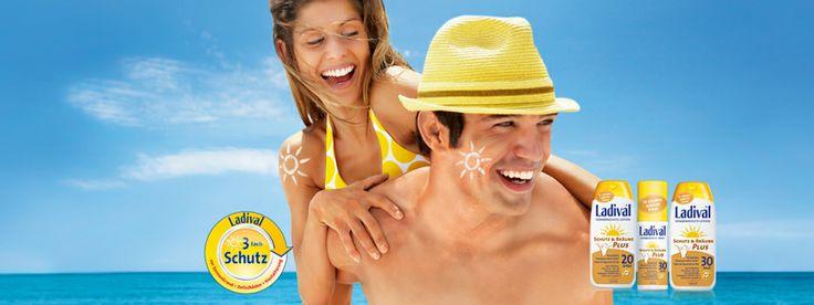 Ladival® Schutz & Bräune PLUS ist die letzte Innovation von Ladival®. Die neue Sonnenschutz-Linie enthält den natürlichen Bräunungsverstärker Tosolin®. Außerdem ist ab sofort das Ladival Allergische Haut auch als Spray in Apotheken erhältlich.