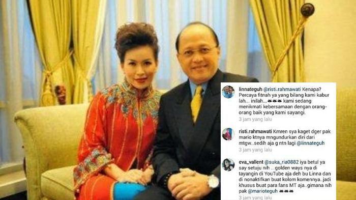 Heboh! Linna Teguh Ngamuk di Instagram, Lantaran Sang Suami Dituding Akan Kabur ke Luar Negeri!