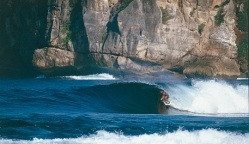 Indonesia's Sumbawa Island, East of Bali, is one of the world's best kept surfing secrets. Might be a good destination for the next trip.