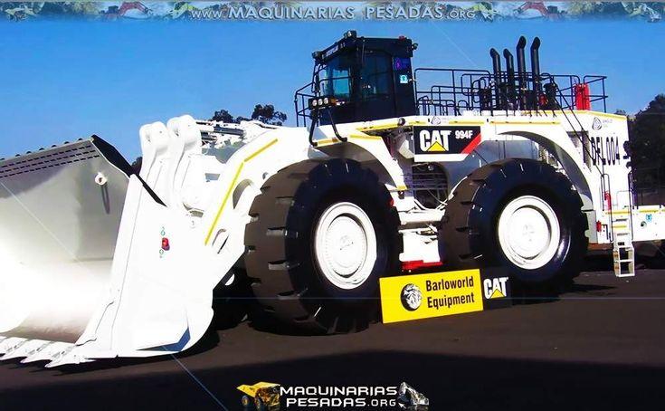Cargador Frontal 994F Caterpillar de Color Blanco Nuevo