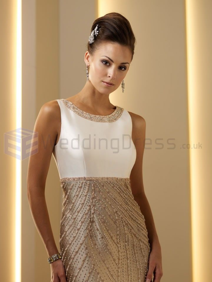 dresses for a spring wedding mother of bride | ... Modified Scoop Bateau Neckline Mother of the Bride Dress (ID111D19