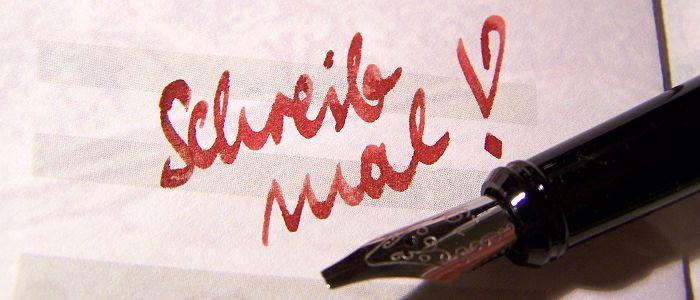 Schreib mal! Handgeschriebene Karten (Grußkarten, Weihnachtskarten, etc.) drücken besondere Wertschätzung für den Empfänger aus. Nachzulesen auf dem Blog der Online-Druckerei xposeprint.de