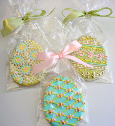 Decorated Easter Cookies | Decorated Easter Cookies