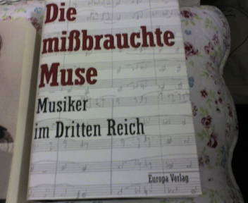 The persecuted musicians (of the third Reich) only partly read, bought at second hand-book selling at the Humboldt Uni. in Berlin 500 or more pages