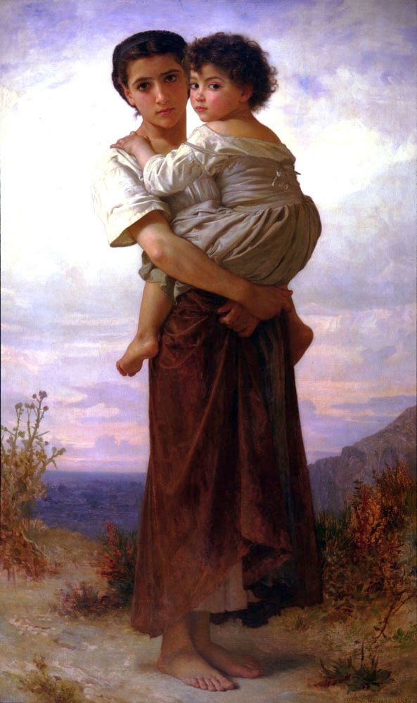 William-Adolphe Bouguereau, Young Bohemians
