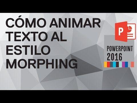 Cómo hacer un efecto 3D en PowerPoint 2010 - YouTube