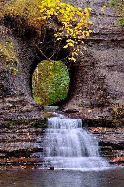 Waterfall Portal Port Alberni British Columbia