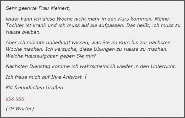Einen Personlichen Brief Schreiben Deutsch Klasse 5 1