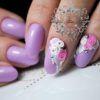 very cute 3d nail art