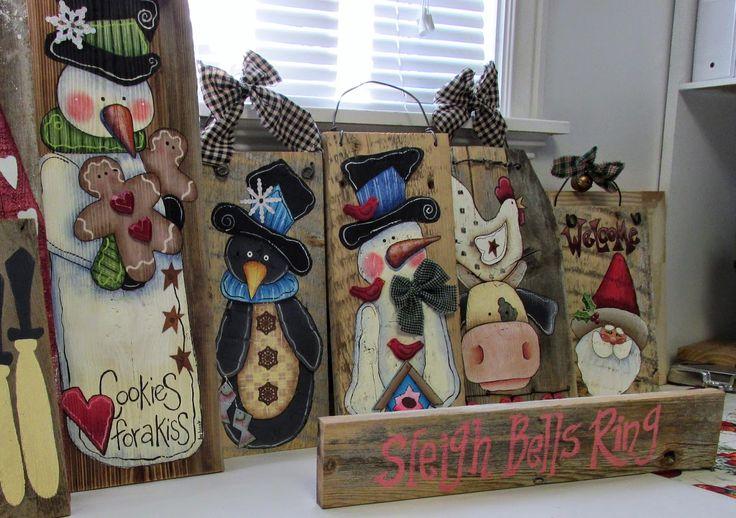 Barb's Heartstrokes: It's beginning to Look Allot Like.........Barn Wood!!