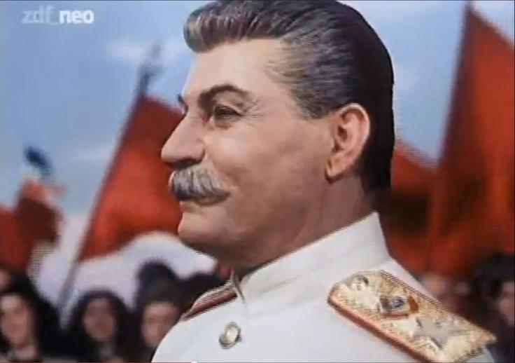 "Josef Stalin: Mikheil Gelovani in ""Padeniye Berlina"" http://www.imdb.com/title/tt0041727/?ref_=fn_al_tt_1"