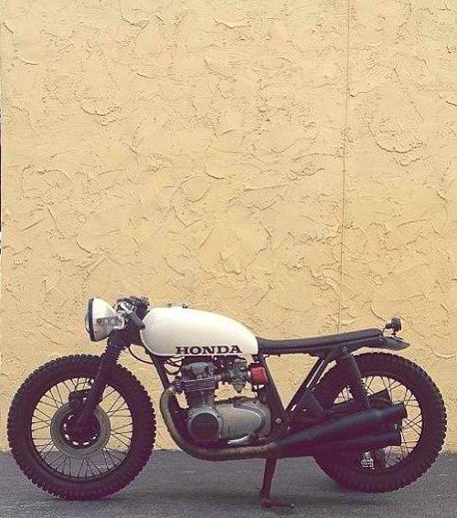 Honda CB cafe racer. #Caferacer #bike #motorcycle