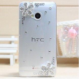 Чехол HTC один пластик, роскошь 3D чехол со стразами кристалл алмаза жёсткая чехол аксессуары для чехол M7 чехол