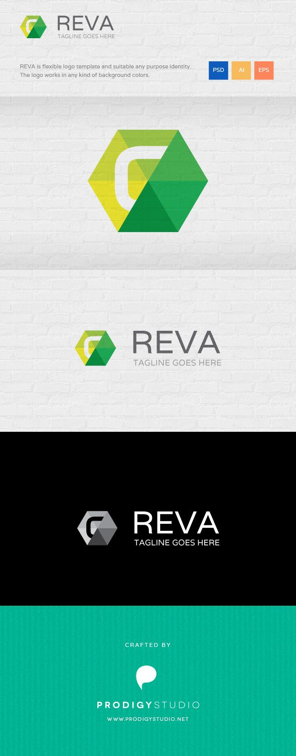 High quality logo with triangles basic shapes: http://graphicriver.net/item/reva-logo-template/6783470?ref=prodigystudio