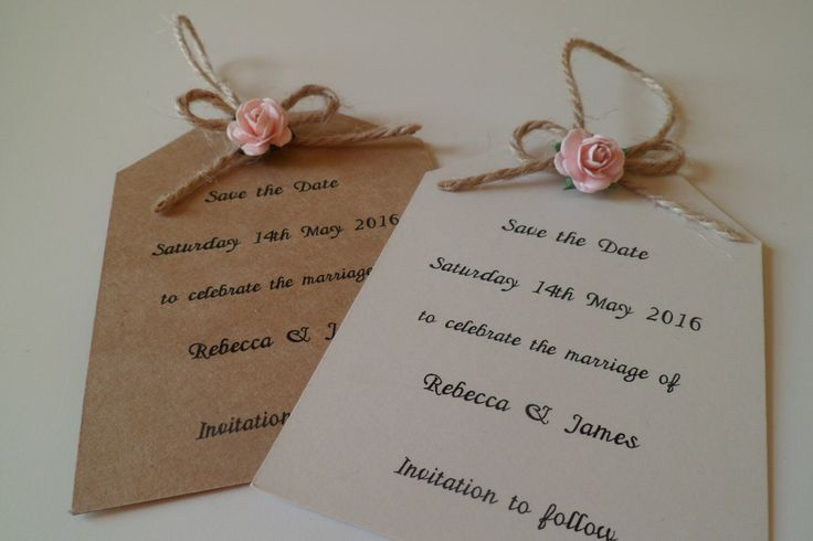 A personal favourite from my Etsy shop https://www.etsy.com/uk/listing/251574480/cute-mini-gift-tag-save-the-date-sample