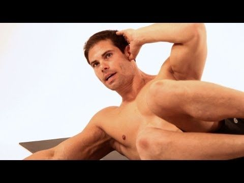 How to Do an Oblique V Up | Home Ab Workout for Men