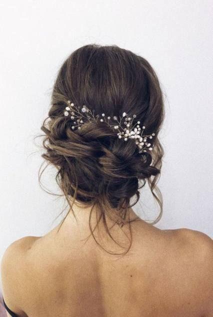 Bridal hairstyles updo brunette hairdos 46 ideas