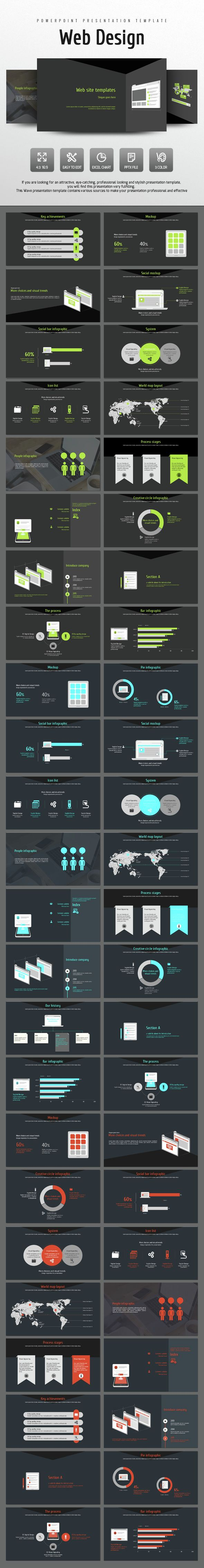 Web Design (PowerPoint Templates)