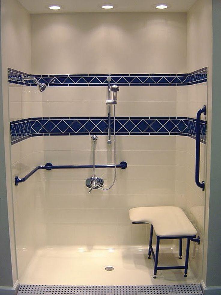 9 best Handi cap showers images on Pinterest | Bathroom ideas ...