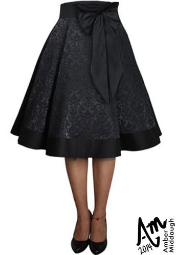 Jacquard Bow Skirt by Amber Middaugh (currently in voting - click the link and vote YES to give it a shot at production)