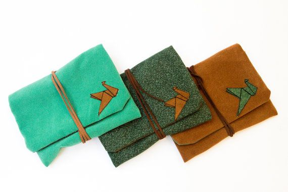 pouch for rolling tabacco by Marinsss on Etsy