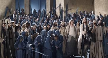 Oberammergau Passion Play. . . . . . is a passion play performed since 1634 as a tradition by the inhabitants of the village of Oberammergau, Bavaria, Germany.