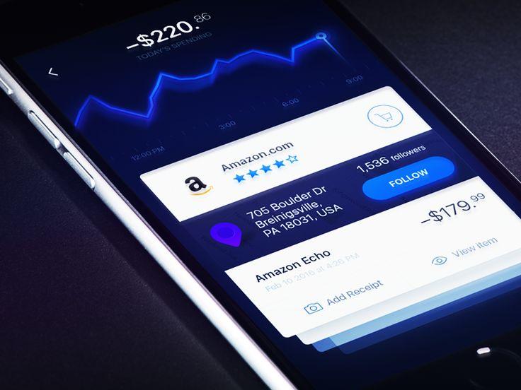 Better bank Concept blue