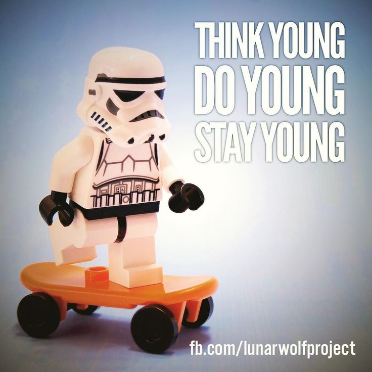 A #lego stormtrooper on a skateboard... what can be cooler than that #mantra #stayyoung #life #motivation #inspiration