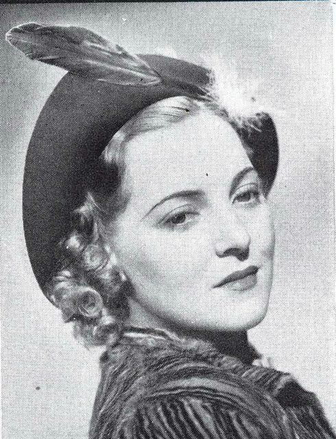Patricia Patterson Charles Boyer's Wife | Pat Patterson in hat II, 1937 | Flickr…