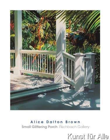 Alice Dalton Brown - Small Glittering Porch
