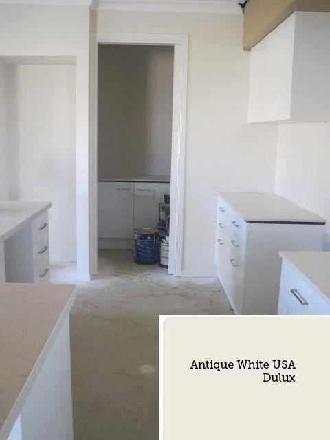 Antique White USA dulux