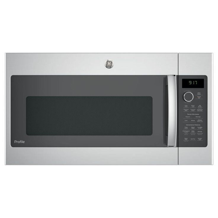 Ge profile 17 cu ft over the range convection microwave