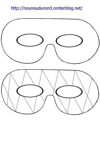 Masque Simple Et Arlequin à Imprimer Activités Manuelles Masque
