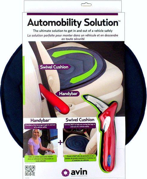 Rivantis Mother's Day Sale - Avin (Stander) Car Safety Kit - Swivel Cushion & Handybar $63.99 (Reg $79.99)