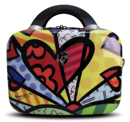 Heys USA Luggage Britto New Day Hard Side Beauty Case, Multi-Colored, One Size Heys. Save 72 Off!. $111.05. 80% Abs/20% Polycarbonate. Matches the britto 22 inch, 26 inch and 30 inch. Made of a polycarbonate composite