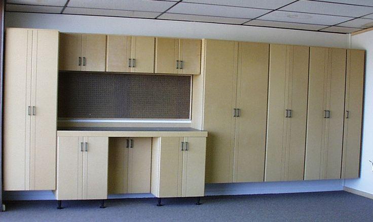 17 best ideas about garage storage cabinets on pinterest storage cabinets garage cabinets diy - Simple garage storage cabinets in cool structured design ...
