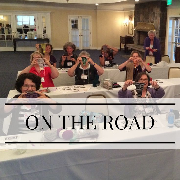I travel all over the country to teach at knitting festivals and conferences. Keep up with me on my website (PattyLyons.com) and blog!