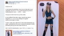 Politiet legger seg langflate etter pikant Facebook-tabbe