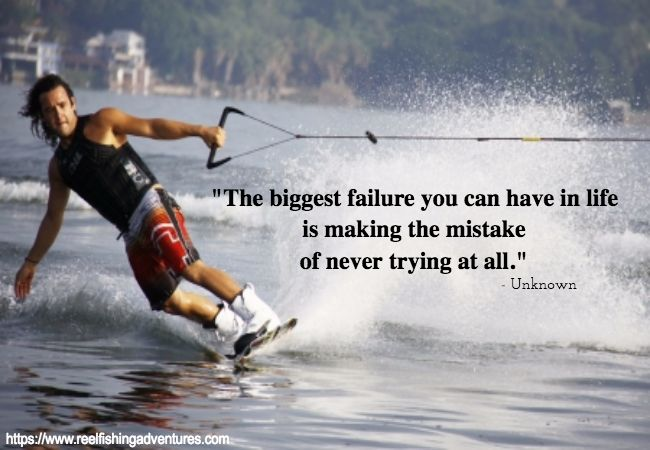 "Try and Try  ""The biggest failure you can have in life is making the mistake of never trying at all."" - Unknown  ..."