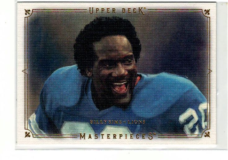 Billy Sims .. Sports Cards .. NFL Trading Cards .. $0.25