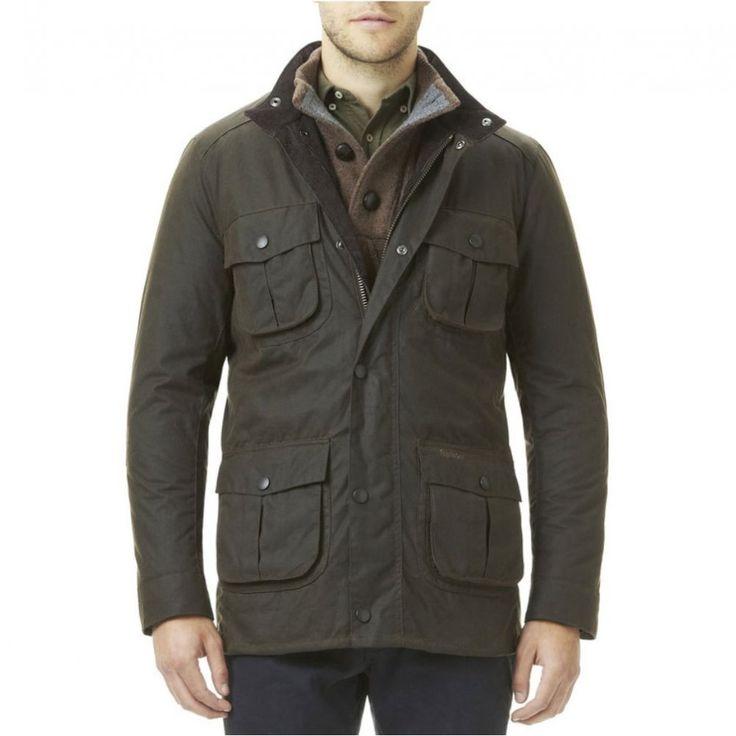 Barbour Corbridge Waxed Jacket Mens Barbour Wax Jacket MWX0340RU91