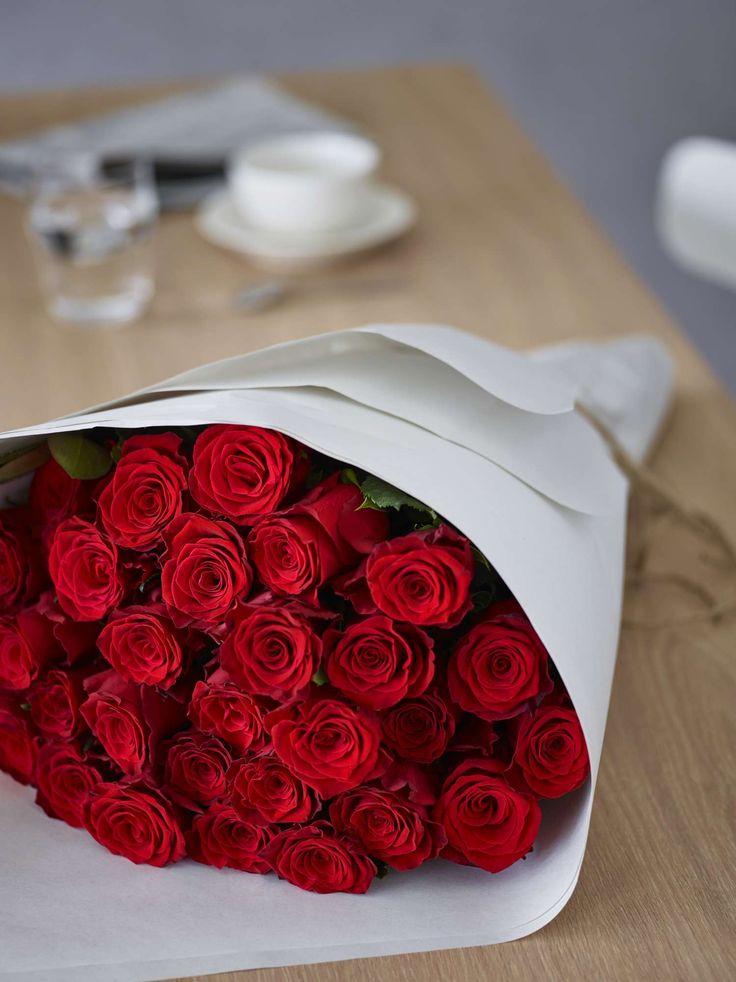 En bukett røde roser er tegn på ekte kjærlighet :-) https://www.mestergronn.no/
