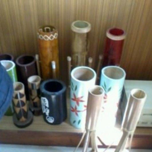 Creative vase made from bamboo @Tina Arche