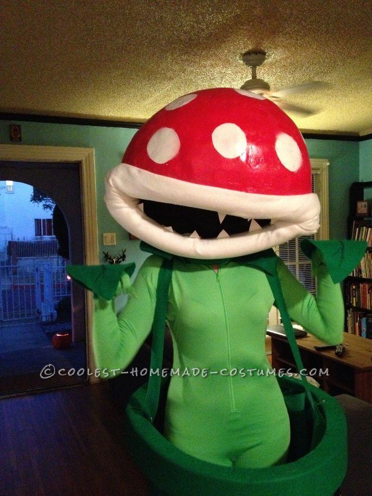 Fantastic Mario Bros Piranha Plant Halloween Costume