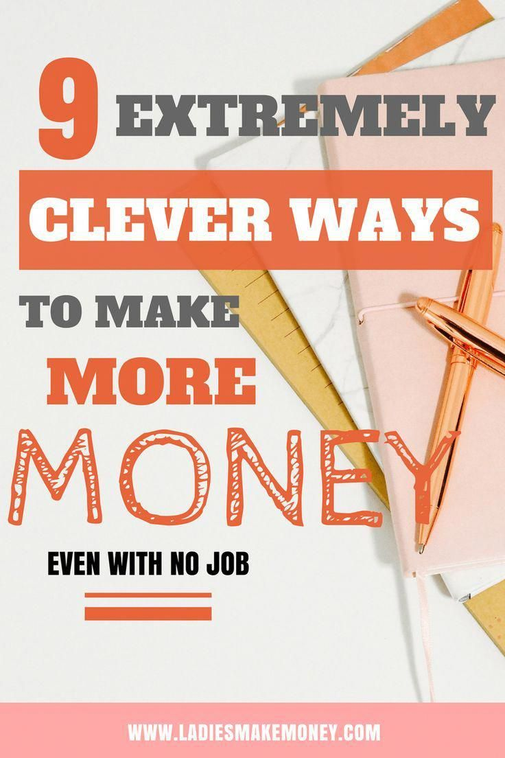 9 extremely clever ways to make more money from home #makingMoneyOnline – Making Money Online