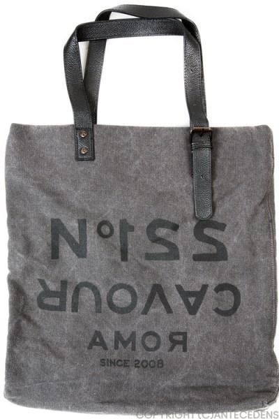 5 PREVIEW Tote Bag Tasche, N221, Dunkelgrau @ antecedens.de/mode