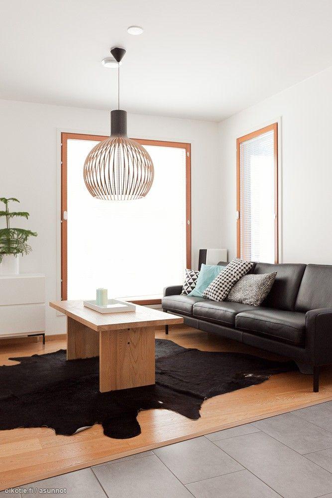 Myytävät asunnot, Havaskuja 4, Oulu #oikotieasunnot #scandinavian #skandinaavinen #olohuone