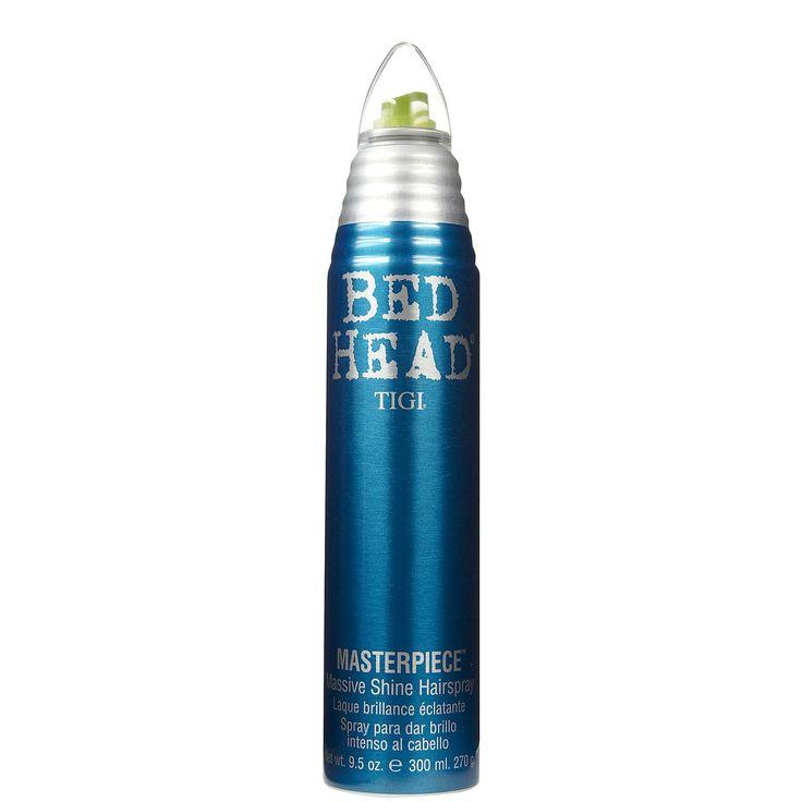 TIGI - MASTERPIECE Hairspray lucidante. Fai dei tuoi capelli un opera d'arte tutto il giorno! Massima lucentezza tenuta medio-leggera. - Non secca i capelli - Combatte l'umidità - Dona corposità. #masterpiece #bedhead #tigi #hair #capelli #finishing #hairspray